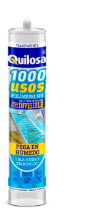 Multi usage 1000 USOS 280ml transp. QUILOSA