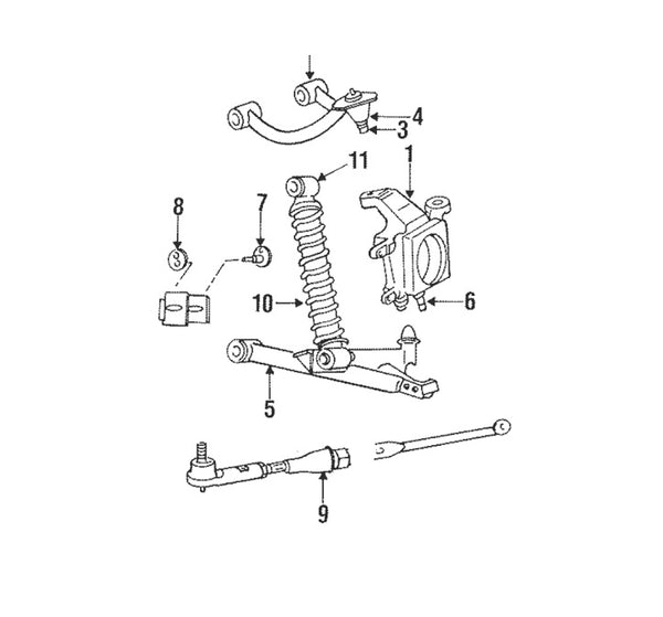 Toe Link Rear Suspension Viper 96-10 OEM