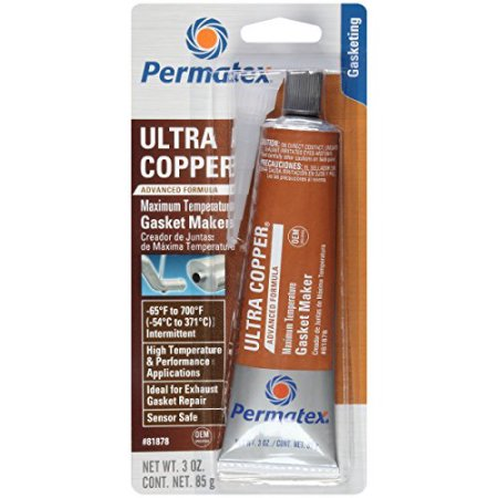 Ultra Copper Gasket Maker Sealant High Temperature