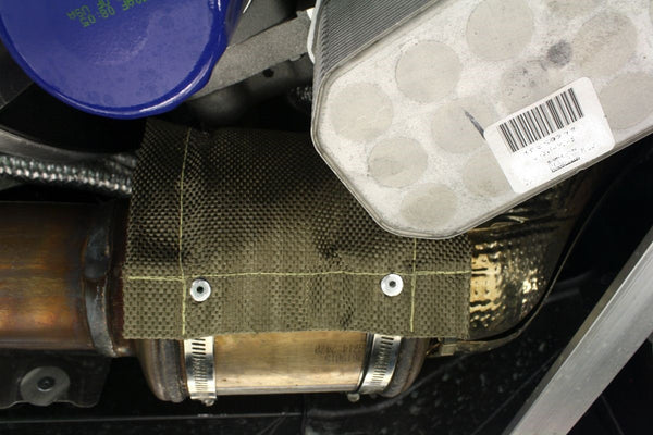 Exhaust Pipe and Catalytic Converter Heat Shield