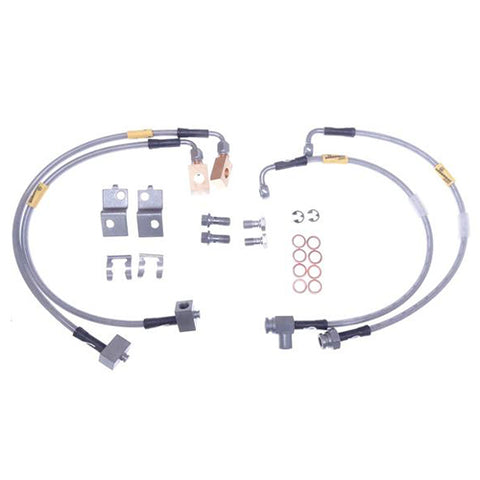 Brake Hose Line Kit Stainless Braided Viper 03-13