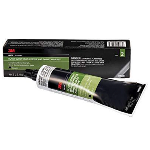 Adhesive Glue 3M Weatherstrip Black