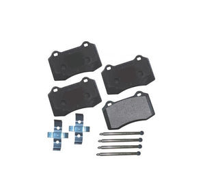 Front Brake Pad Set with Hardware Viper 92-02