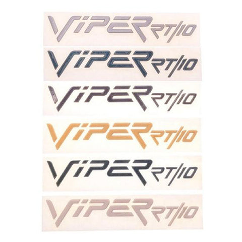 Rear Emblem Bumper Decal Badge Viper RT/10 OEM