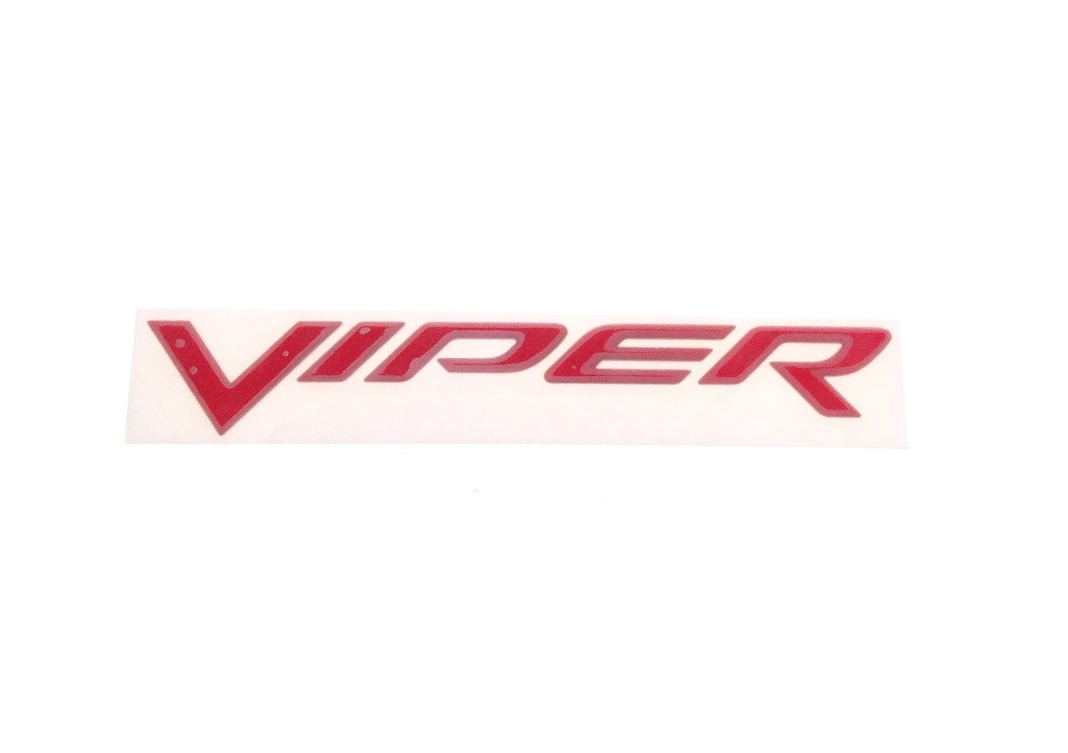 Bumper Decal rear Emblem Viper 03-10 OEM