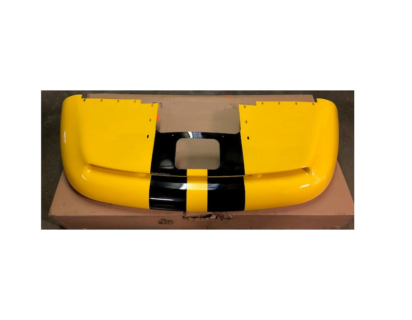 Rear Bumper Cover Fascia Yellow Black Viper GTS 97-02 OEM NEW