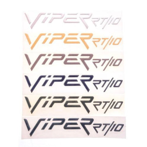 Hood Emblem Decal Side Badge Viper RT/10 OEM