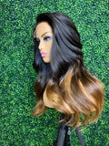 "20"" Ombre  Side Part Unit"