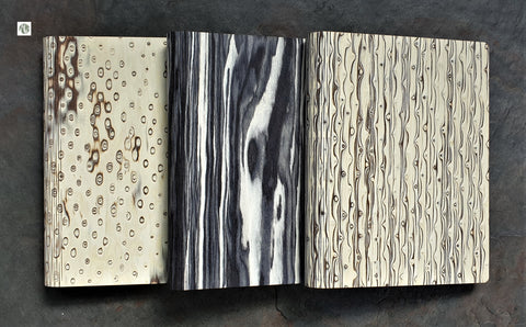 Bark & Rock recycled natural wood notebooks