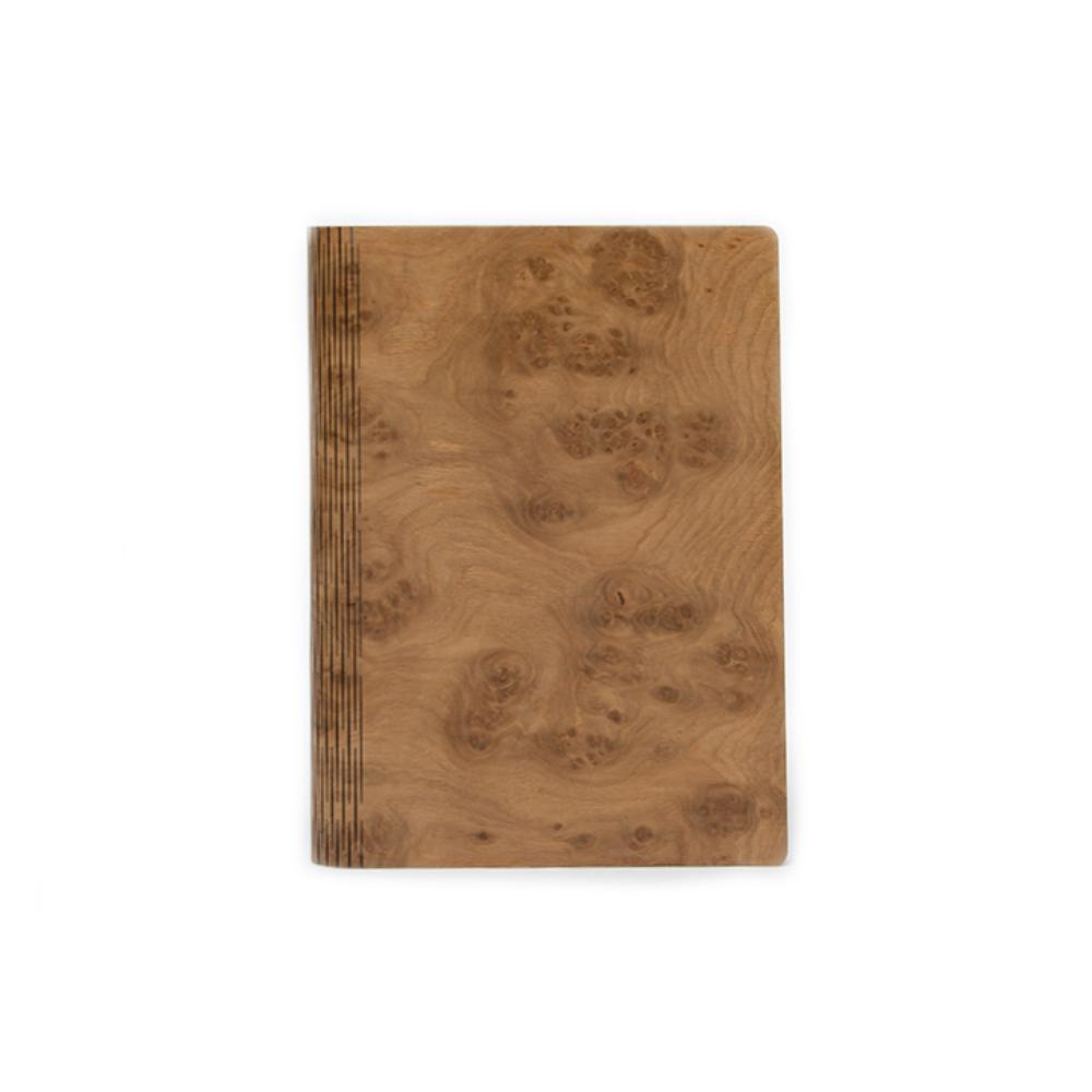 Bark & Rock Oak Cluster Luxury Wood Journal