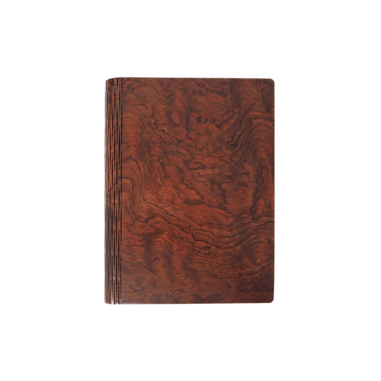 Bark & Rock Bubinga Kewazinga Wood Luxury Journal