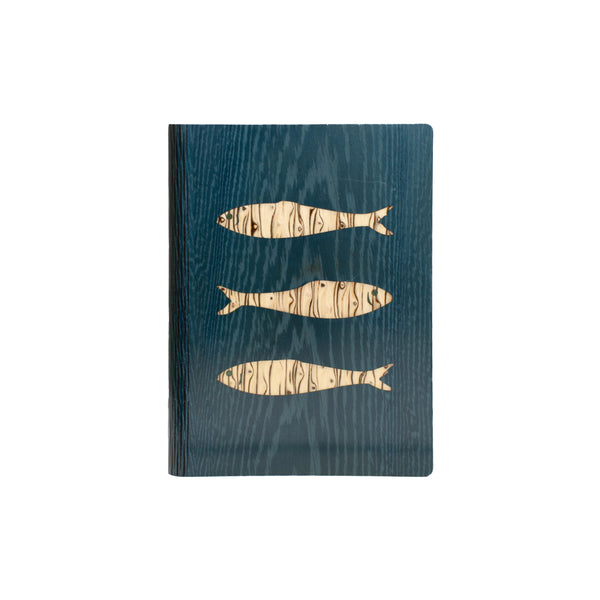 Fish Notebook - Bark & Rock