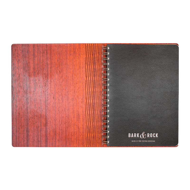 Lines Notebook - Bark & Rock