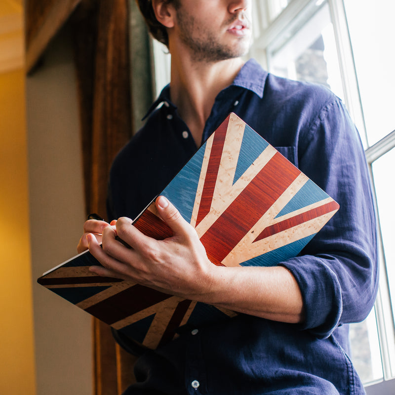 Union Jack Notebook - Bark & Rock