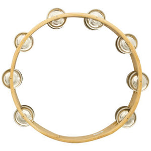 "10"" Headless Double Row Tambourine"