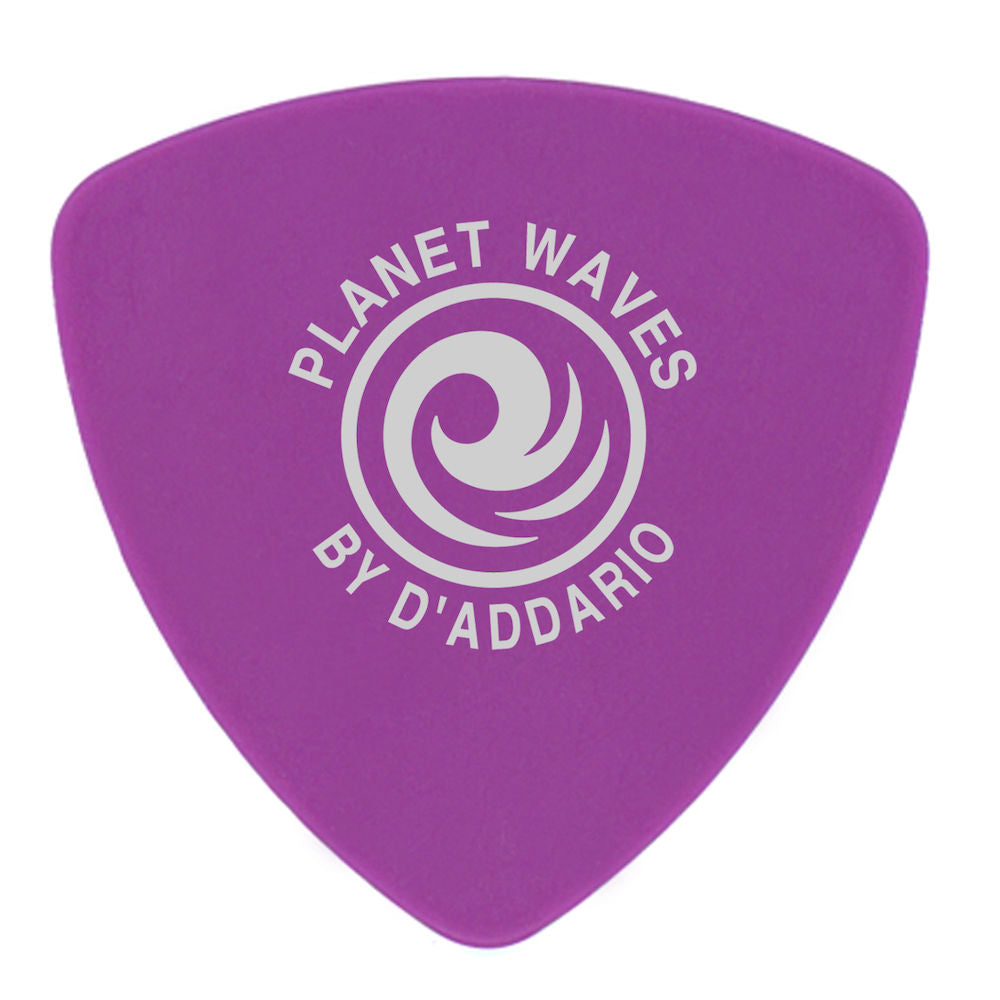 D'Addario Duralin Guitar Picks, Heavy, Wide Shape