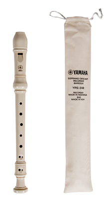 Yamaha YRS-24B Soprano Recorder with Baroque Fingering