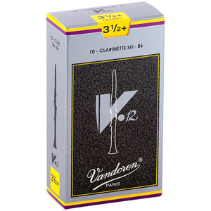 Vandoren V12 Bb Clarinet Reeds Strength Box of 10