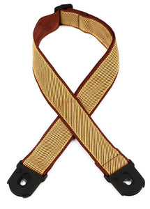 D'Addario Planet Lock Guitar Strap, Tweed