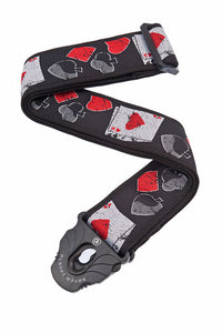 D'Addario Planet Lock Guitar Strap, Hold 'em