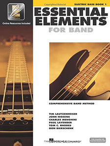 Copy of Essential Elements For Band Book 1 - Electric Bass