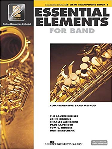 Essential Elements Alto Sax Book 1