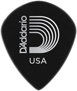 D'Addario Black Ice Guitar Picks, Medium