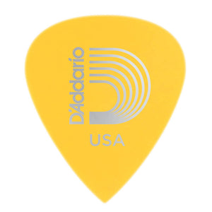 D'Addario Duralin Precision Guitar Picks, Light/Medium