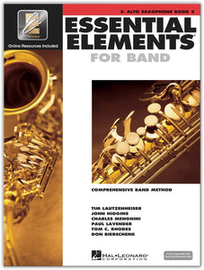 Essential Elements For Band Book 2 - Alto Sax