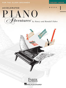Accelerated Piano Adventures® Theory Book 1 For the Older Beginner