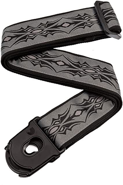 D'Addario Planet Lock Guitar Strap, Tribal