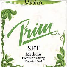 Prim Steel Violin String Set - 4/4 Size - Medium Gauge