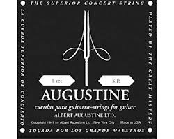 AUGUSTINE Black Label Classical Guitar Strings - Normal Tension - Gold