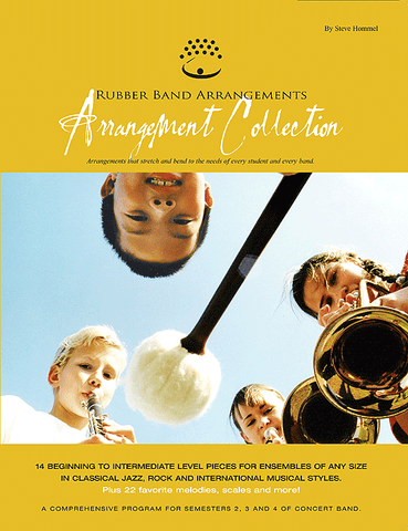 Rubber Band Arrangements Arrangement Collection - Flute