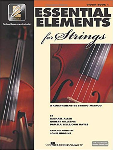 Essential Elements 2000 for Strings Book 1 - 1/2 Violin