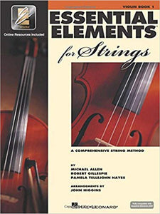 Essential Elements 2000 for Strings Book 1 - 3/4 Violin