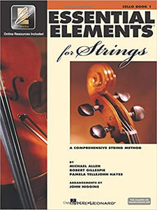 Essential Elements 2000 for Strings Book 1 - 4/4 Cello