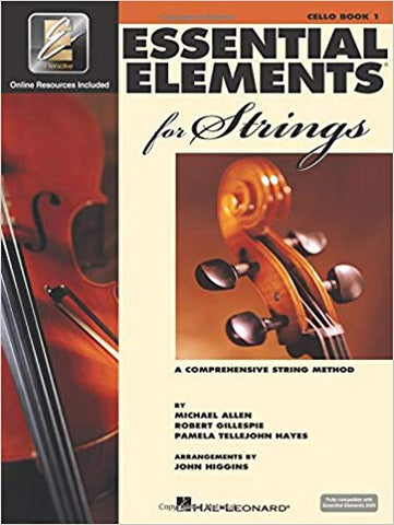 Essential Elements 2000 for Strings Book 1 - 1/4 Cello