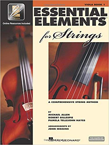 "Essential Elements 2000 for Strings Book 1 - 12"" Viola"