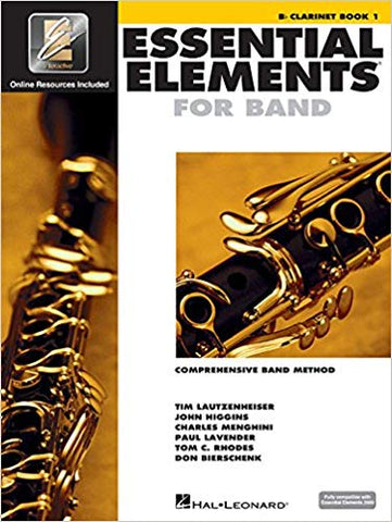Essential Elements For Band Book 1 - Clarinet