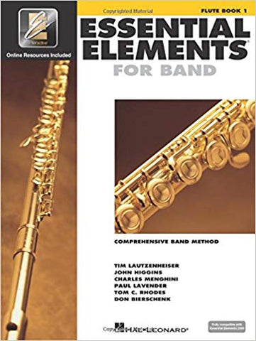 Essential Elements For Band Book 1 - Flute