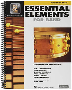 Essential Elements For Band Book 1 - Percussion