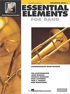Essential Elements For Band Book 1 - Trombone