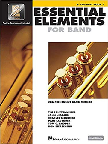 Essential Elements For Band Book 1 - Trumpet