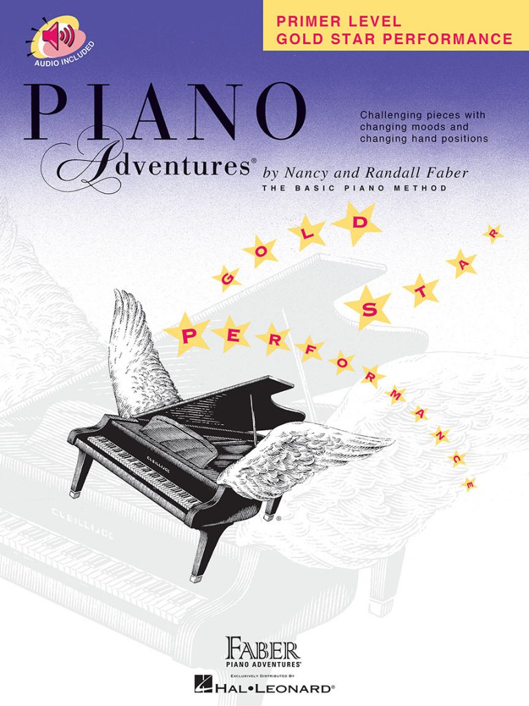 Piano Adventures® Primer Level Gold Star Performance