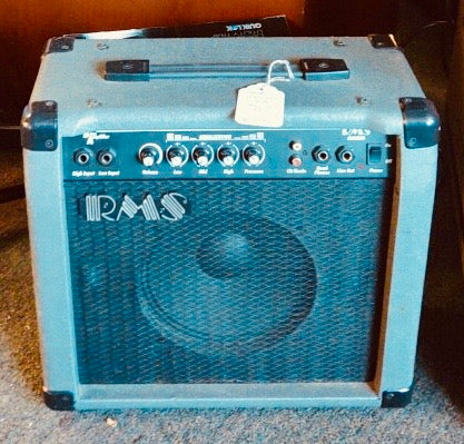 "RMS G20 20-Watt Electric Guitar Amp Amplifier with 8"" Speaker and Reverb"