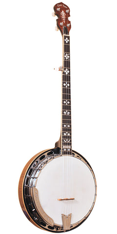 Gold Tone Orange Blossom Banjo with Case OB-250: