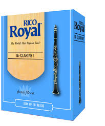 Rico Royal Clarinet Reeds Box of 10