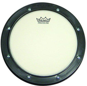 "Remo 10"" Gray Tunable Practice Pad with Ambassador Coated Drumhead"