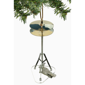 Hi Hat Cymbal Ornament